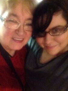 My gran and I