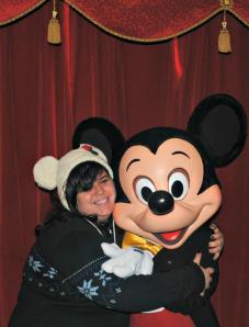 Mickey and I