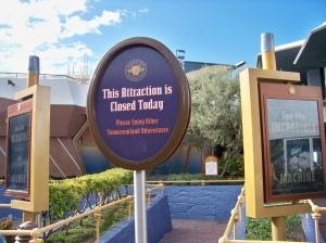 Disney closed