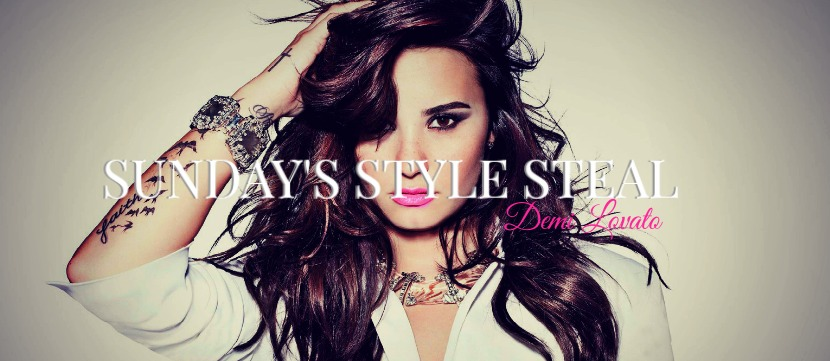 Sunday's Style Steal Demi Lovato