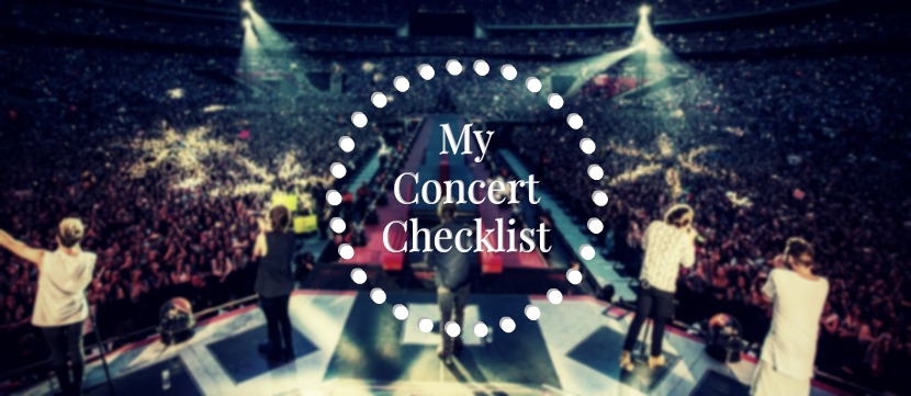 What to take to a concert - my 5 essentials | ALL THAT JAZMIN