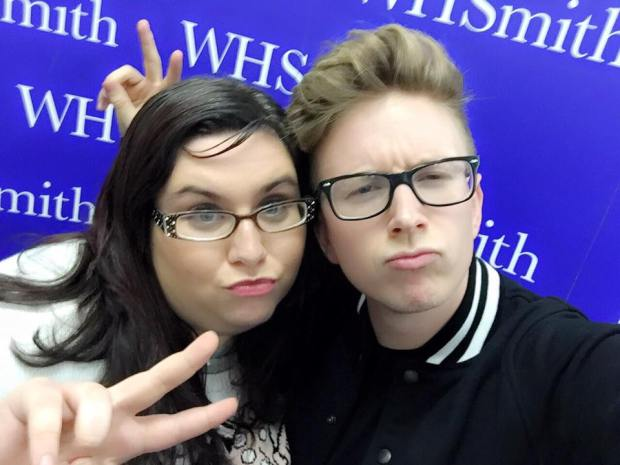 Tyler Oakley and I