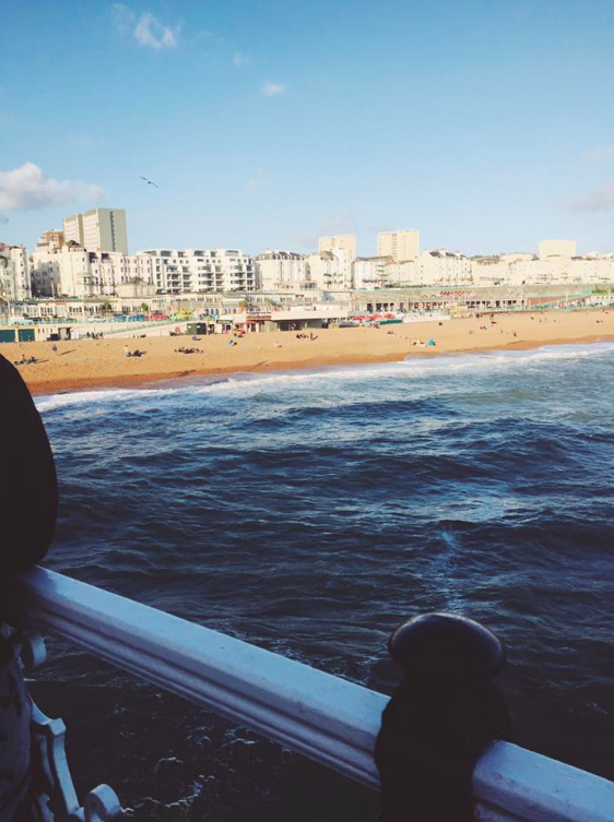 The scenery of Brighton was aesthetically pleasing
