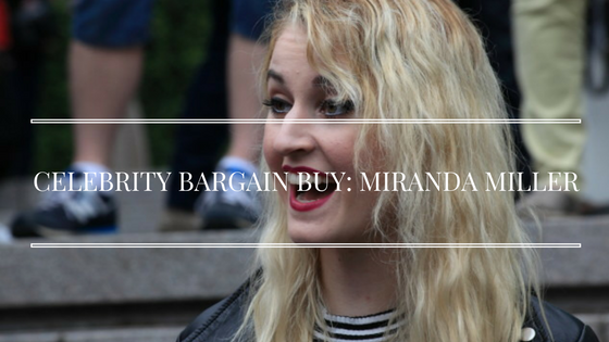 Celebrity Bargain Buy Miranda