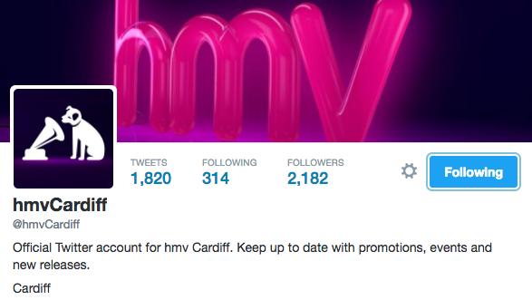 HMV Cardiff