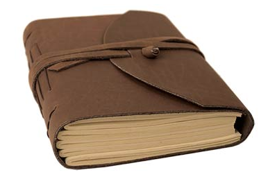 Rustic Brown Wrap Journal