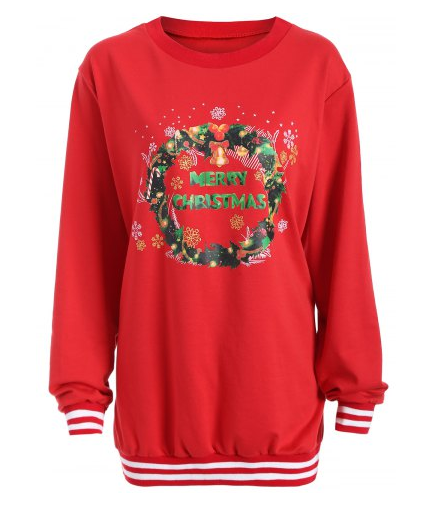 Rosegal Christmas sweatshirt