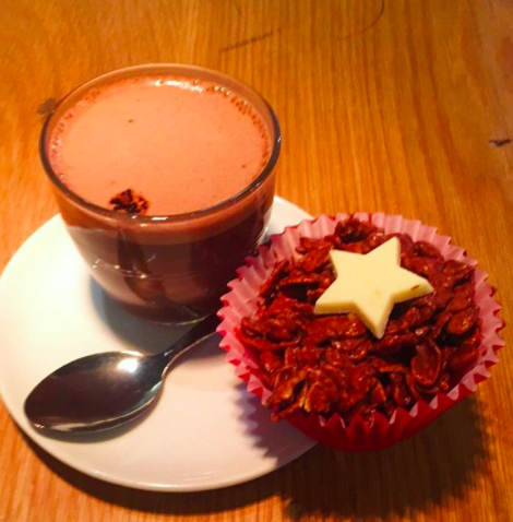 Costa Lindt Hot Chocolate